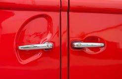 De handvatten van de auto Stock Afbeelding
