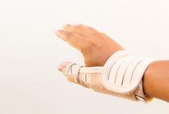 De handvinger van de mensenverwonding Royalty-vrije Stock Foto's