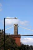 De hangbrug van Clifton stock afbeeldingen