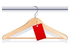 De hanger van de kleding Stock Fotografie