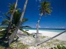 De hangmat van het strand Royalty-vrije Stock Afbeeldingen
