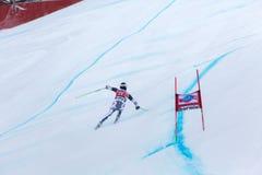 De Hannes Reichelt coupe du monde de Fis de place en second lieu Bormio 2013 photos stock