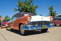 1956 de hardtop van Ford Victoria 2dr Stock Afbeeldingen