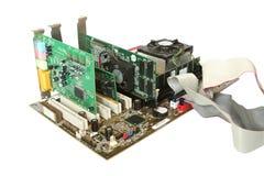 De Hardware van de computer. Stock Afbeelding