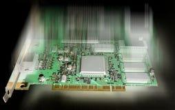 De hardware van de computer stock afbeeldingen