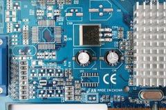 De hardware videokaart van PC Royalty-vrije Stock Foto's