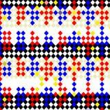 De harlekijn controleert patroon stock illustratie