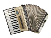 De harmonika van de piano stock foto's