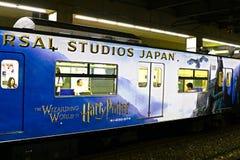 De Harry Potter-trein Stock Afbeeldingen