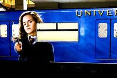 De Harry Potter-trein Royalty-vrije Stock Afbeelding