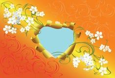 De hartaanval van de lente Stock Afbeelding