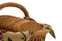 De hartelijke Plakken van het Brood - close-up Royalty-vrije Stock Afbeelding