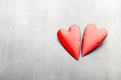 De Harten van de Dag van de valentijnskaart Valentine-dag greating kaart Stock Afbeeldingen