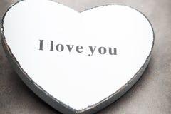 De Harten van de Dag van de valentijnskaart Valentine-dag greating kaart Stock Fotografie