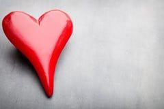 De Harten van de Dag van de valentijnskaart Valentine-dag greating kaart Stock Foto