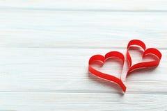 De harten van de liefde Stock Foto