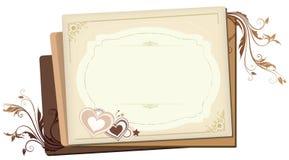 De harten van de room Royalty-vrije Stock Afbeelding
