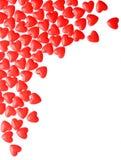 De harten van het suikergoed De dag van de valentijnskaart Royalty-vrije Stock Foto's