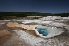 De hartlente, het Nationale Park van Yellowstone Stock Foto's