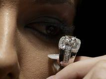 De hartstocht van de diamant Stock Afbeeldingen