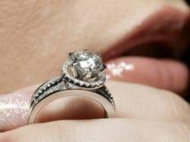 De hartstocht van de diamant Royalty-vrije Stock Afbeelding