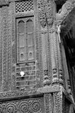 ` De Haveli do ` ou casa tradicional da herança em Ahmedabad Imagens de Stock Royalty Free