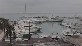 De Haven Frankrijk van Cannes stock footage