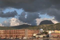 De Haven Louis van Mauritius Stock Foto