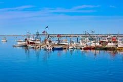 De haven Massachusetts de V.S. van Cape Cod Provincetown Royalty-vrije Stock Afbeeldingen