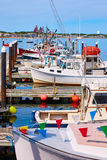 De haven Massachusetts de V.S. van Cape Cod Provincetown Stock Fotografie