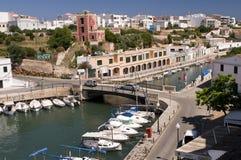 De haven Menorca Spanje van Ciutadella Stock Afbeelding