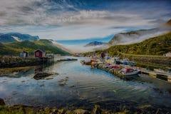 De haven in Napp royalty-vrije stock afbeelding