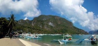 De Haven Palawan van Gr Nido Royalty-vrije Stock Afbeelding