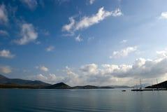 De haven van Achillio stock afbeeldingen