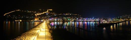 De haven van Alanyan Stock Afbeeldingen