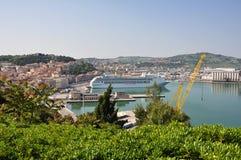 De haven van Ancona Stock Foto's