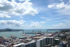 De haven van Auckland Stock Afbeelding