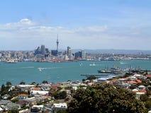 De Haven van Auckland Toneel royalty-vrije stock afbeeldingen
