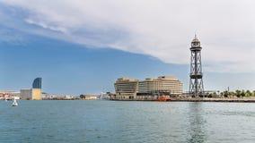 De haven van Barcelona Royalty-vrije Stock Fotografie