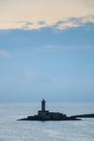 De haven van Bari, Italië Stock Foto