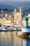 De Haven van Bastia Vieux Royalty-vrije Stock Foto's