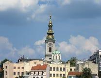 De haven van Belgrado stock fotografie