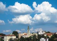 De haven van Belgrado stock foto
