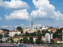 De haven van Belgrado stock foto's