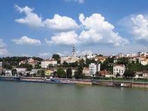 De haven van Belgrado stock afbeelding