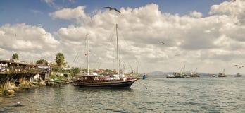 De Haven van Bosforvissen Royalty-vrije Stock Foto