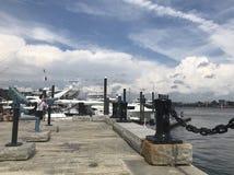 De haven van Boston stock afbeelding
