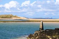 De haven van Carragh van Fal Stock Foto