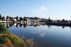 De haven van Carthago stock foto