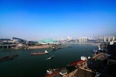 De haven van Chongqing stock foto